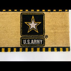 United Staes Army License Door Mat